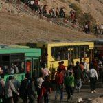 اتوبوسرانی هواداران تراکتور را به ورزشگاه می برد