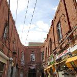 احیای جدارههای تاریخی مغازههای سنگی آغاز شد