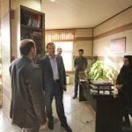 بازدید مدیرعامل سازمان سیما، منظر و فضای سبز شهری از واحدهای مختلف اداری
