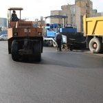 خیابان اشرفی لاله آسفالت ریزی اساسی شد