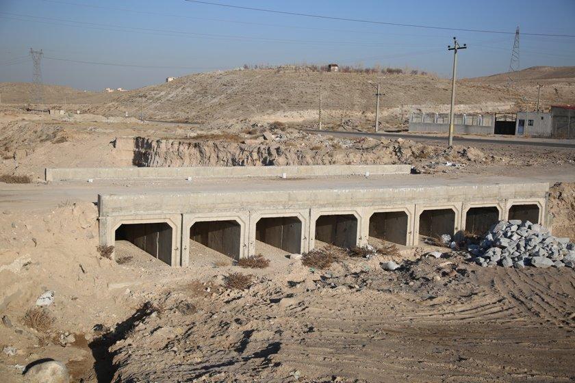 اتصال مسیر اسنجان به شهرک اندیشه با احداث پل ارتباطی