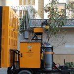 طراحی ساخت دستگاه ترمیم حرارتی آسفالت در پارک علم و فناوری آذربایجان شرقی