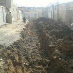 جدولگذاری و احداث آبروهای روستای اوغلی تکمیل شد
