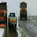 تردد در گردنه های برفگیر آذربایجان شرقی با زنجیر چرخ ممکن است