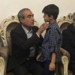 دیدار استاندار آذربایجان شرقی با خانواده بهرام اتحاد جانباخته کشتی نفتکش سانچی در تبریز