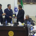 نشان عالی اتاق تبریز به مهندس ایرج شهین باهر اعطا شد