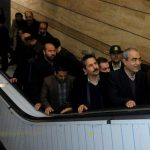 پلهبرقیهای ایستگاه میدان ساعت راهاندازی شد