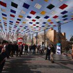 بخش مرور پنجمین جشنواره نمایشهای خیابانی تبریزیم در پارک ائلگلی به پایان رسید