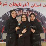 قهرمانی کارمندان شهرداری تبریز در مسابقات دارت استان به مناسبت دهه فجر