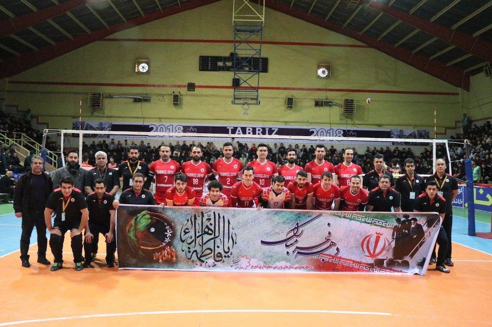 ایستگاه پایانی دور مقدماتی والیبال باشگاه های کشور