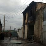 آتش سوزی کارگاه تولیدی شهرک شهید مدنی تبریز اطفا شد