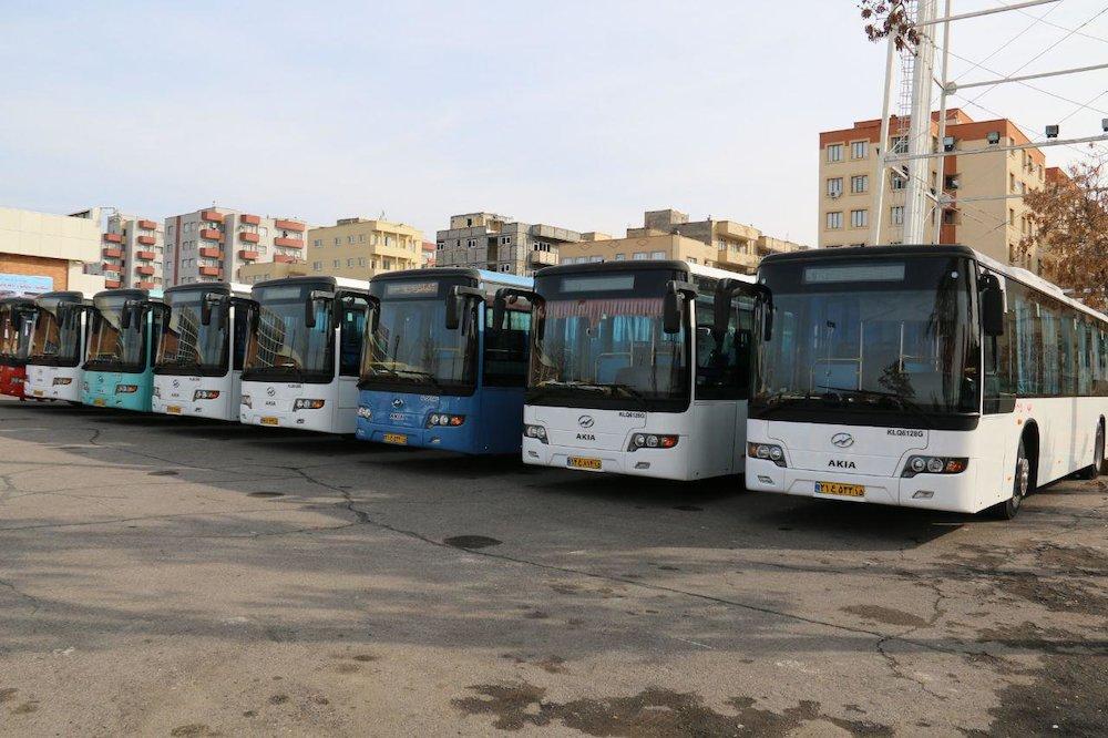 ورود 75 دستگاه اتوبوس جدید و نوساز به چرخه ناوگان اتوبوسرانی شهر