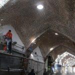 مرمت و جدارهسازی بازار یمن دوزان توسط شهرداری منطقه ۸