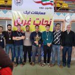 کسب عناوین مختلف تیم کارکنان نجات غریق سازمان ورزش در لیگ استان