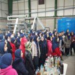 بازدید دانش آموزان دبیرستان حضرت ولیعصر (عج) از سازمان مدیریت پسماند