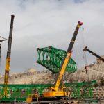 پروژه پل اتصال «پارک بهاران به پارک عباسمیرزا» با ۸۰درصد پیشرفت فیزیکی ادامه دارد