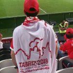 حل برخی مشکلات ورزشگاه و اهدای ۱۰هزار پرچم با لوگوی مشترک تراکتور و ۲۰۱۸تبریز به هواداران
