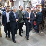 مهندس شهینباهر از بازار تاریخی تبریز بازدید کرد