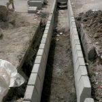 جدولگذاری و حل معضل آبهای سطحی خیابان شهید فتحیوند