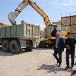اصلاح معابر و شبکه های ارتباطی انتهای خیابان مردانی آذر شهرک اندیشه