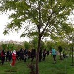 برگزاری ورزش صبحگاهی در بوستان های شهرداری منطقه ۷ تبریز