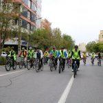 برگزاری مسابقه دوچرخه سواری در شهرداری منطقه ۵