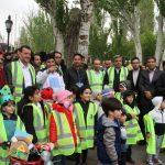 همایش بزرگ پیاده روی و مراسم روز جهانی زمین پاک برگزار شد