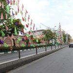 اجرای فضاسازی گسترده شهری در آستانه سفر رئیس جمهور و مراسم رویداد تبریز۲۰۱۸