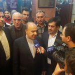 تمجید وزیر ورزش از میزبانی خوب تبریز از رقابتهای لیگ جهانی والیبال نشسته