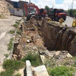 عملیات خاکبرداری کانال ایلی سو در محدوده اسلامشهر شروع شد
