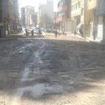 آغاز اجرای پروژه زیرسازی خیابان کلانتر کوچه