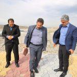بازدید شهردار تبریز از عملیات عمرانی پارک کوهستان شهرک اندیشه