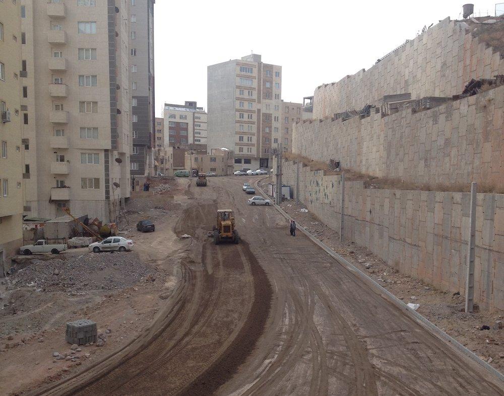 پروژه احداث خیابان 20 متری بعثت فرهنگیان به اتمام رسید