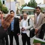 بازدید نمایندگان فدراسیون والیبال از امکانات باشگاه شهرداری تبریز