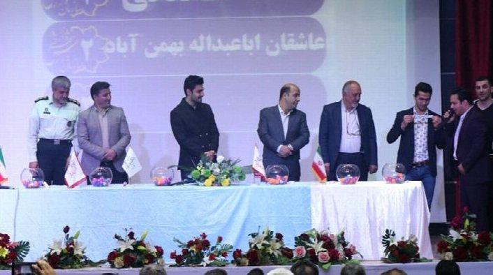 قرعه کشی رده بزرگسالان مسابقات فوتسال جام تبریز ۲۰۱۸ برگزار شد
