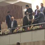 امام جمعه تبریز تماشاگر ویژه مسابقه والیبال تیم ملی نوجوانان