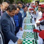 برگزاری بزرگترین مسابقه شطرنج سیمولتانه ایران در تبریز به همت سازمان ورزش شهرداری تبریز
