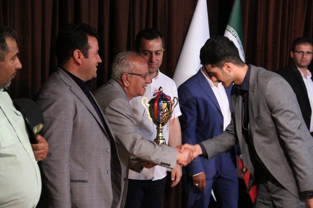 آئین اختتامیه مسابقات فوتسال جام تبریز 2018 برگزار شد