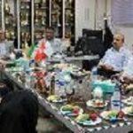 بازدید اعضای شورای شهر و شهردار قزوین از امکانات سازمان ورزش شهرداری کلان شهر تبریز