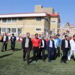 بازدید رئیس هیئت فوتبال آذربایجان شرقی از مدرسه فوتبال شهرداری تبریز