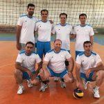 یرد تیم والیبال شهرداری منطقه۴ برابر منطقه۵