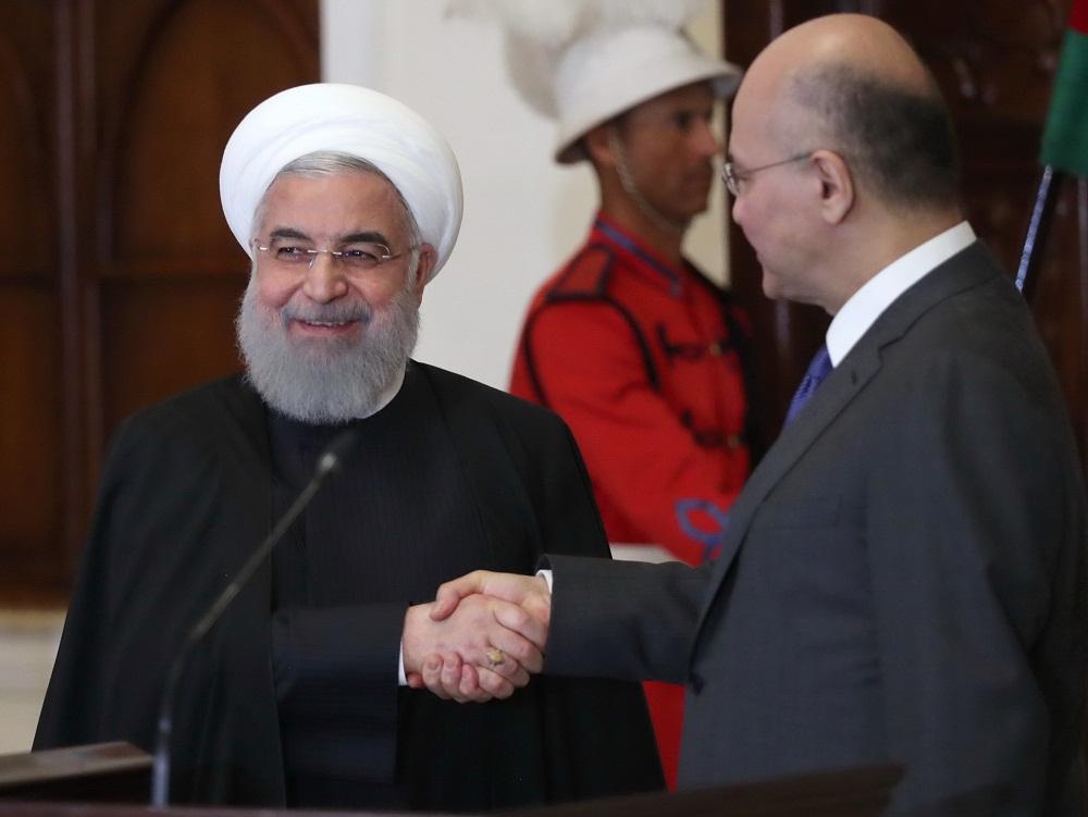 ادعای روزنامه العرب، نزدیک به سعودی: عراق از روحانی خواسته بود تا در توافق ۱۹۷۵ الجزایر تجدید نظر کند، اما رئیسجمهور ایران نپذیرفت