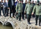 واکنش فرمانده سپاه به سخنان روحانی: انفجار خط آهن برای سرعت بخشیدن به تخلیه آب بود / امیدواریم دیگر به ما تهمت نزنند که آب را از این طرف به آن طرف انتقال میدهیم
