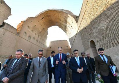 بخشی از طاق کسرا تخریب شد ، دولت عراق دستور رسیدگی داد