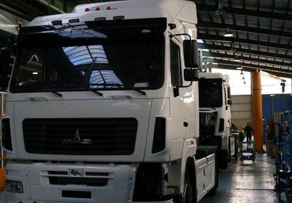 گزارش تصویری از خط تولید خودروهای دیزلی(سنگین)