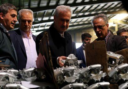 گزارش تصویری از افتتاح و بازدید استاندار و معاون وزیر صمت از واحد های صنعتی