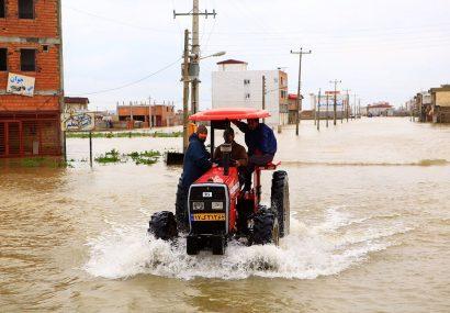 بابک طهافی: گزارش تصویری از وضعیت مناطق سیل زده استان گلستان