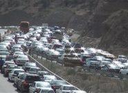 آخرین وضعیت جادهها؛ بارش باران در جادههای ۱۲ استان / بارش برف در ارتفاعات جاده چالوس