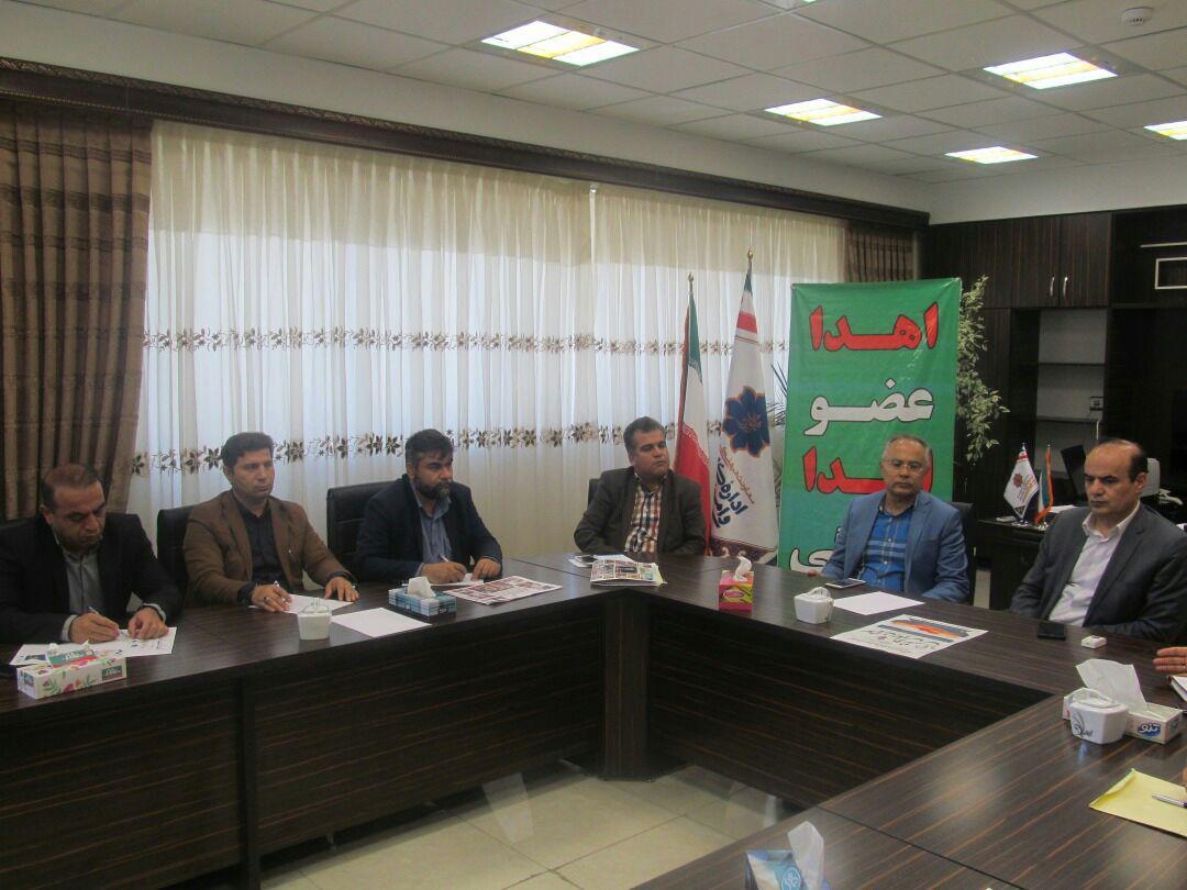 جلسه هماهنگی سومین همایش نفس در اداره کل سلامت شهرداری تبریز برگزار شد
