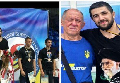 از نیت پوشیدن پیراهن با تصویر رهبری تا عشق به حججی توسط کشتیگیر اوکراینی/ جانیم سنه قربان اولسون